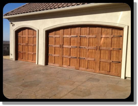 Custom Wood Garage Door Add Beauty 2 Ur Home Wood Doors Have Style