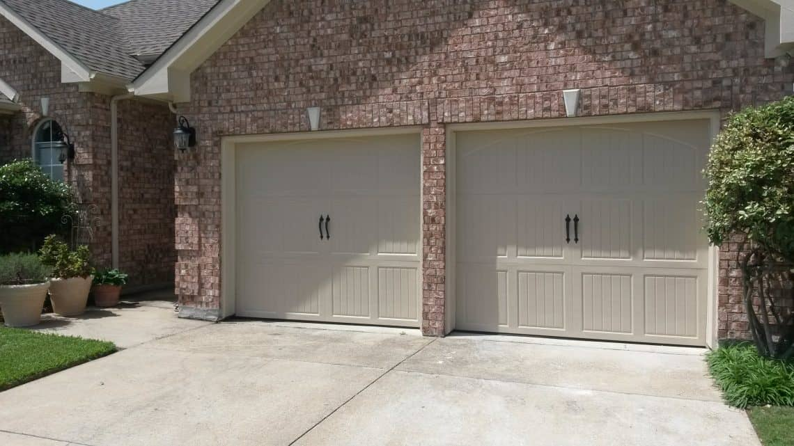 Affordable garage door repairs in plano mckinney and allen classica bordeaux arched wicker tan rubansaba