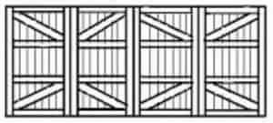 Custom Wood Garage Doors 125
