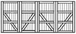 Custom wood garage doors 193