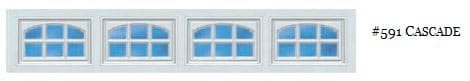 Doorlink Cascade Garage Door Window Insert