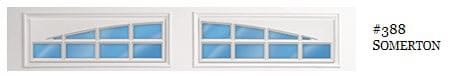 Doorlink Somerton garage door window insert