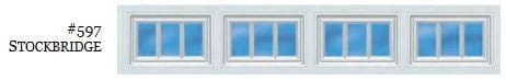 Doorlink Stockbridge 2 Garage Door Window Insert