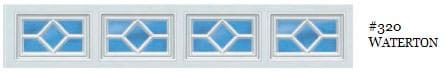 Doorlink Waterton Garage Door Window Insert