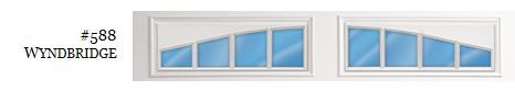 Doorlink Wyndbridge Garage Door Window Insert