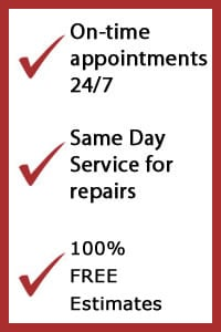 garage door repair lewisville tx, on-time appointments, same day service, free estimates