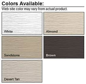 residential metal garage door color options