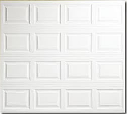 Raised panel metal Garage door