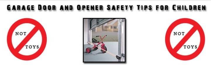 Garage door maintenance program