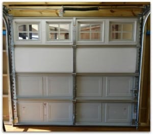 Insulated non insulated garage door