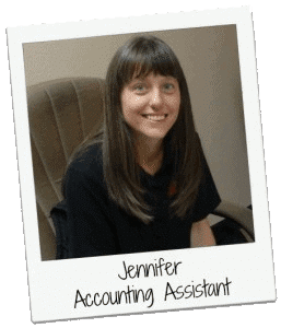 jennifer accounting assistant