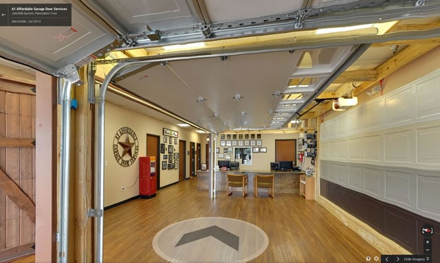 Take the virtual tour of A1 Garage Doors