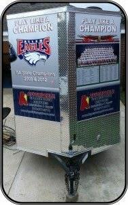 Garage Door Repair Allen TX with the Allen Eagles Football