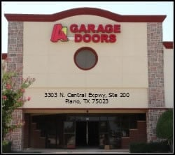 A1 Affordable Garage Door Services Plano Showroom