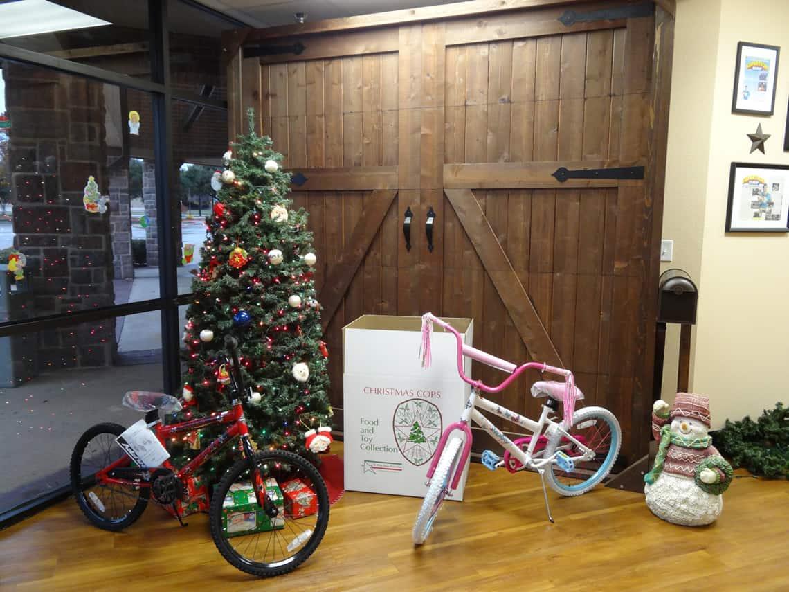 Bikes for Christmas