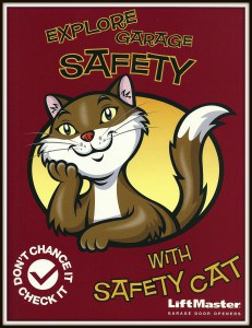 Safety Cat LiftMaster Garage Door Safety