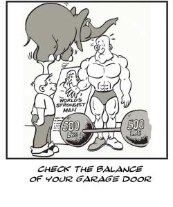Check Garage Door Balance