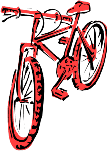 Red bike for Plano Christmas Cops Donation