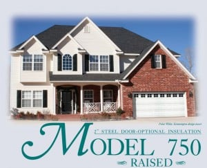 Model 750 Windsor Garage Door