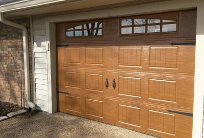 10 x 7 Oakwood Steelwood Collection Garage Door