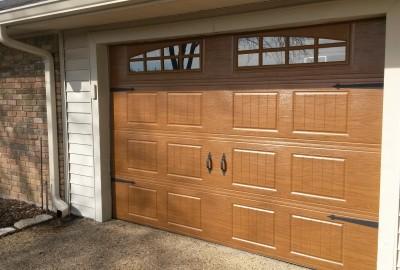 10 x 7 Oakwood Steelwood Collection Garage Door