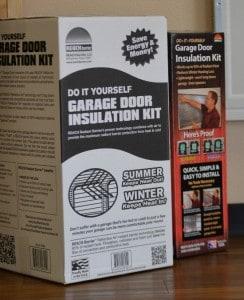 Garage Door Insulation