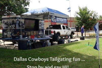 Dallas Cowboys Tailgating Fun