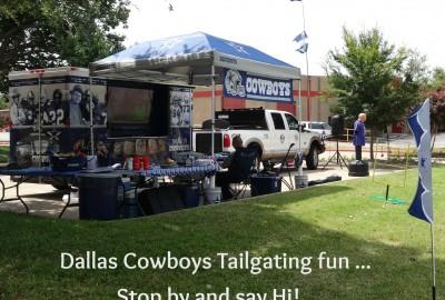Dallas Cowboys Tailgating Fun