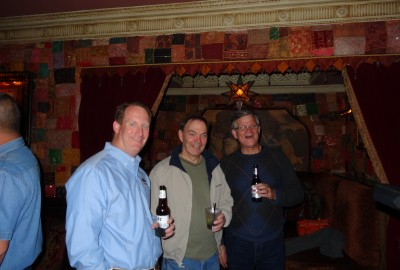 George Dearing, Brian Hinden and Mike from Allied Windows