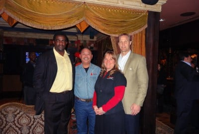 Kevin, Kris O'Connor, Greg Ellis and Chad Hennings