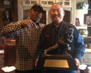The Heisman Trophy Tony Dorsett and Kevin