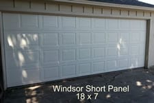 18 x 7 Windsor garage door