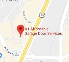 A1 Affordable Garage Door Services map