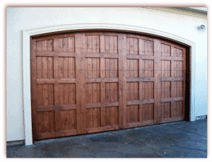 16 x 7 Custom Wood Door No Hardware-1