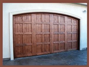 Custom Wood Garage Doors With Arched Top Hardware 16 X 7 Door No 1