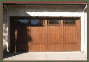 16 x 7 Custom Wood Door with windows-1