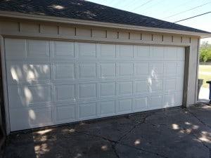 18 x 7 24 ga steel garage door