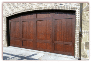 18 x 7 Custom Wood Door Arched - Stained-1