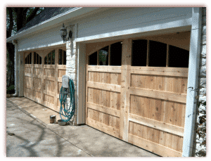 Custom Cedar Wood Doors-1