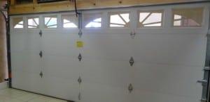 Double Steelback Garage Door