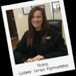 Desiree Hamilton - Team member A1Affordable Garage Door Services