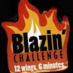 Buffalo Wild WIngs Blazen Challenge