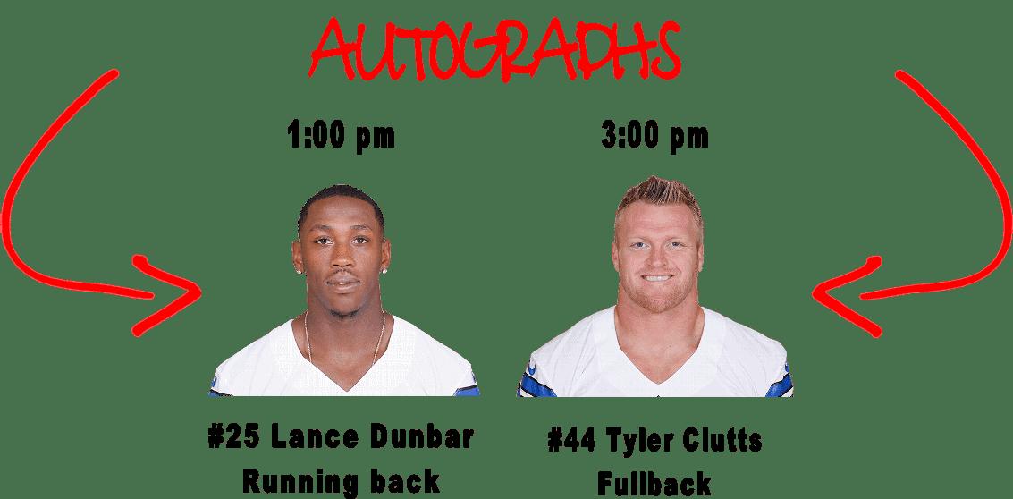 Cowboys Fanfest 2016 - Autographs 2016