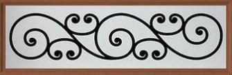 Amarr Trellis Long Panel Degraglass Window Design