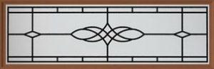 Amarr Victorian Long Panel Decraglass Window Design