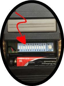 Garage Door Dip Switches