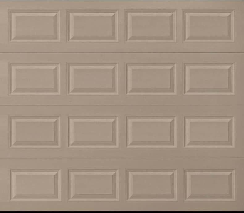 Amarr Heritage Sandtone Short Panel Garage Door