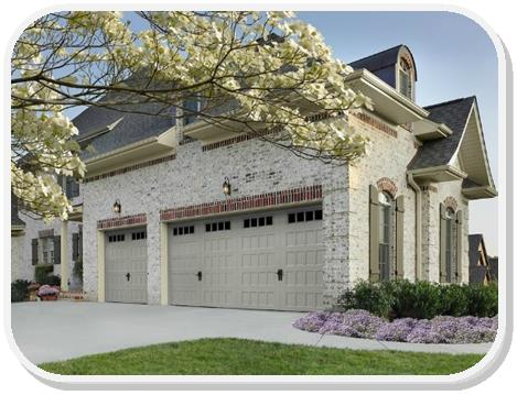 Amarr Oak Summit Recessed panel garage door