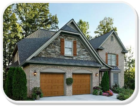 Amarr Garage Door Stratford short panel garage door