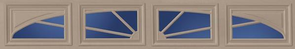 Garage Door Window Designs